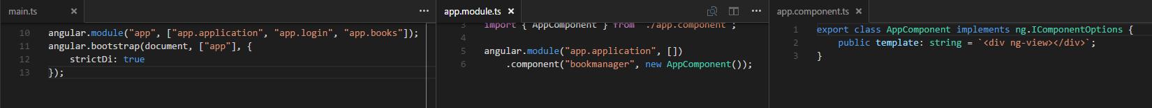 Angular1 bootstrap