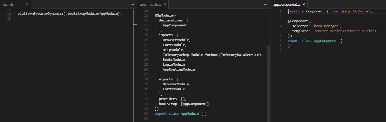 Angular2 bootstrap